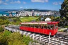 Cable Car Bahn in Wellington