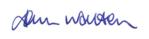 J. Walton- e signature
